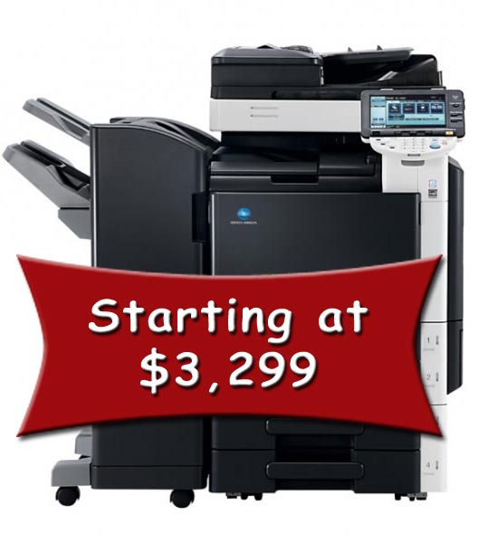 Great Deals Konica Minolta Copiers